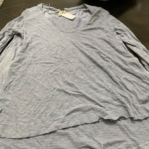 New free people thermal with thumb holes